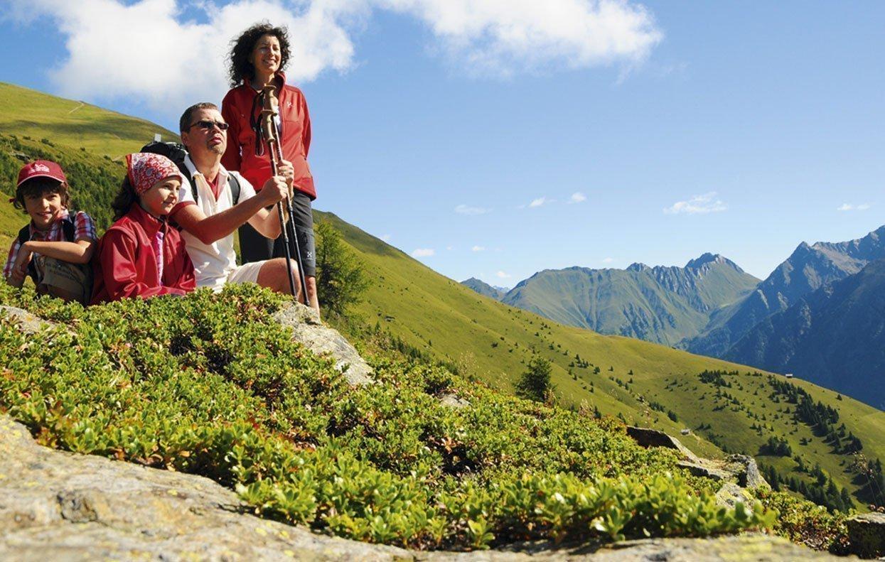 Trascorrete la vostra vacanza in famiglia a Valles in Alto Adige