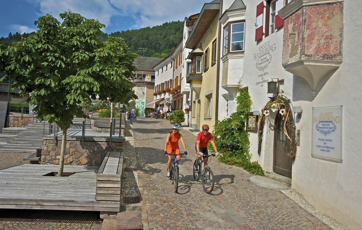 Tour guidati in bicicletta durante una vacanza sulle due ruote in Alto Adige