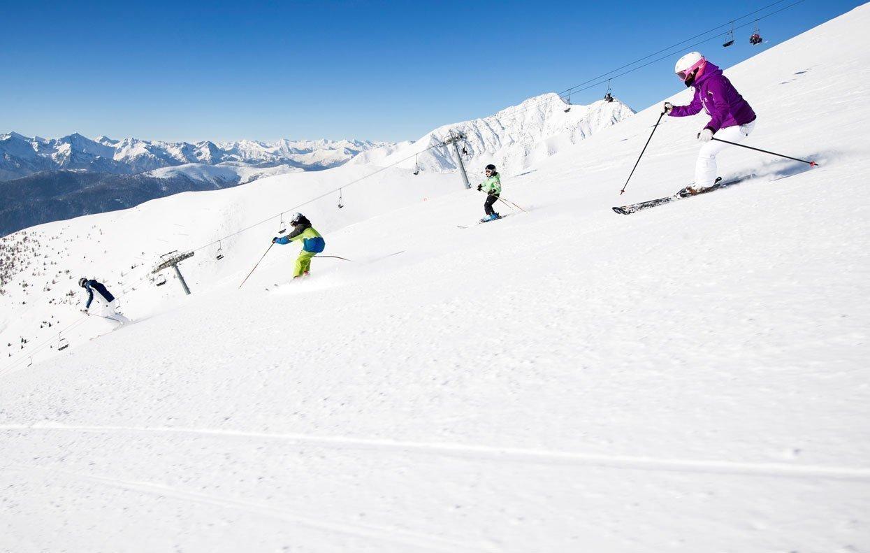 Vacanze sugli sci in Alto Adige: vi trovate nel cuore di una splendida area sciistica!