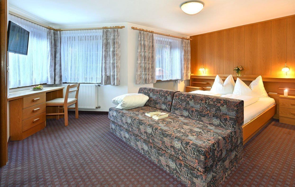 Alla Pensione Sonneck troverete un alloggio accogliente per le vostre vacanze