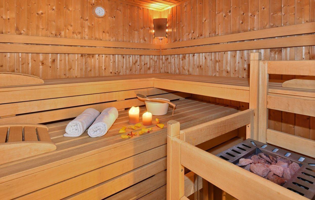 Wellness in Vals - Entspannen Sie in der finnischen Sauna